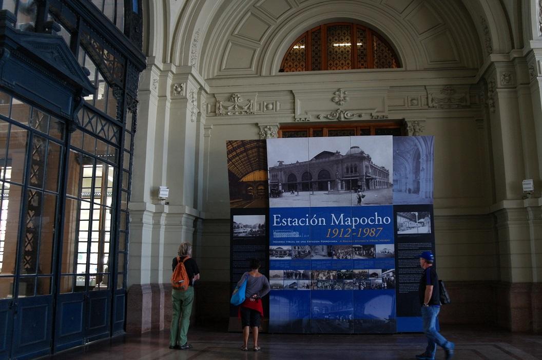 15 in de hal van Estacion Mapocho (1912)