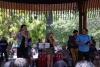 28 vrolijk optreden, Salsa, in muziekpaviljoen op Plaza de Armas