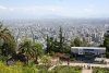 40 uitzicht op de stad Santiago vanaf de 869 m hoge Cerro San Cristobal