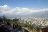 46 uitzicht op de stad Santiago vanaf de 869 m hoge Cerro San Cristobal