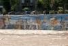 55 historische muurschilderingen aan de oever van de Constanera Norte, Santiago