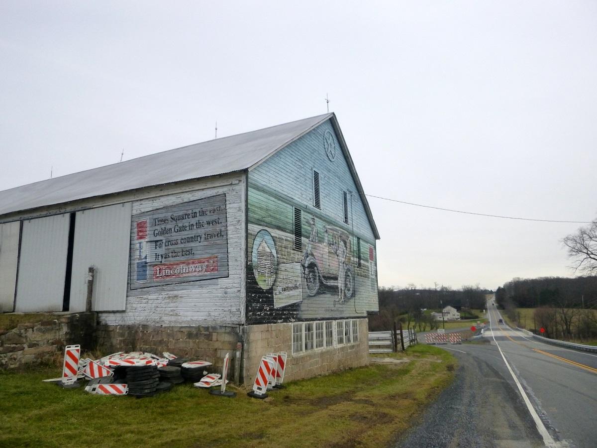 9 de Bison Corral Farm aan de Lincoln Highway