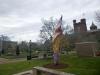 18 Enid Haubt Garden, met zicht op Smithsonian Castle