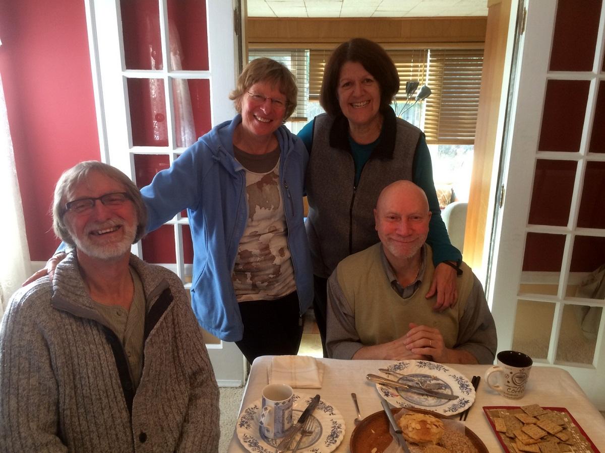 19 en veel gezelligheid en vriendschap, samen met Maria en Rod