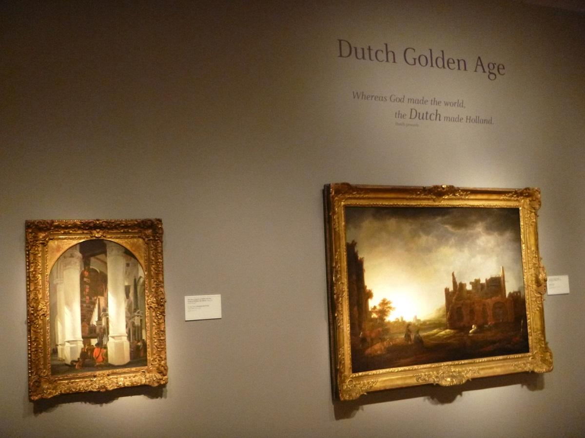 32 Dutch Golden Age - expositie in Detroit Instituut of Arts