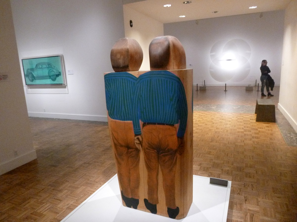 40 Double Portrait of Henry Geldzahler (1967- Marisol