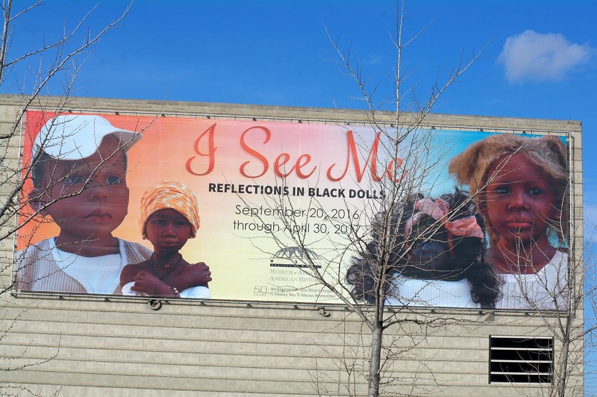 5 I See Me, extra expositie Reflections in Black Dolls - prachtige expositie met veel geschiedenis (no pictures)