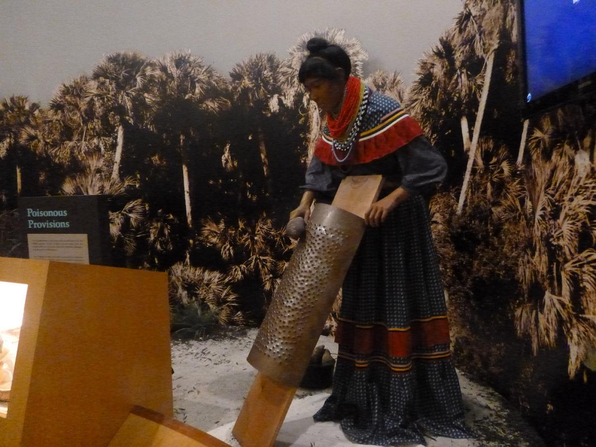31 in het museum, aandacht voor de Seminole Indian Cultuur