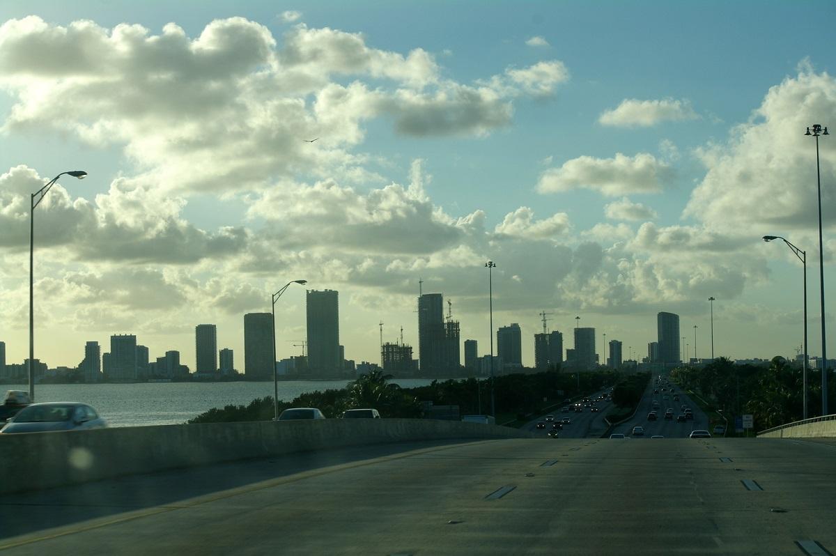 01 skyline in Miami