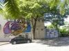 11heerlijke wandeling en zwerven door straten met creatieve muurschildringen