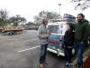 2 leuke ontmoeting met mede VW busje reizigers uit Argentinië, Nico en Lola, en bijna dezelfde route gingen vanuit Argentinië naar Alaska, nu op terugreis naar huis - Argentinië