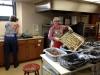 al weer een serie klaar... gehaktballen voor Lutefisk Dinner, maaltijd voor ca. 650 personen
