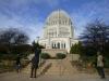 bezoek aan Baha'i House of Worship - Baha'i Temple in Wilmette - Chicago, architect Louis Bourgeois - juni 1931