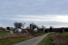 boerderijen aan de The Scenic Route - Illinois Beautiful Byway - aan de Great River Road