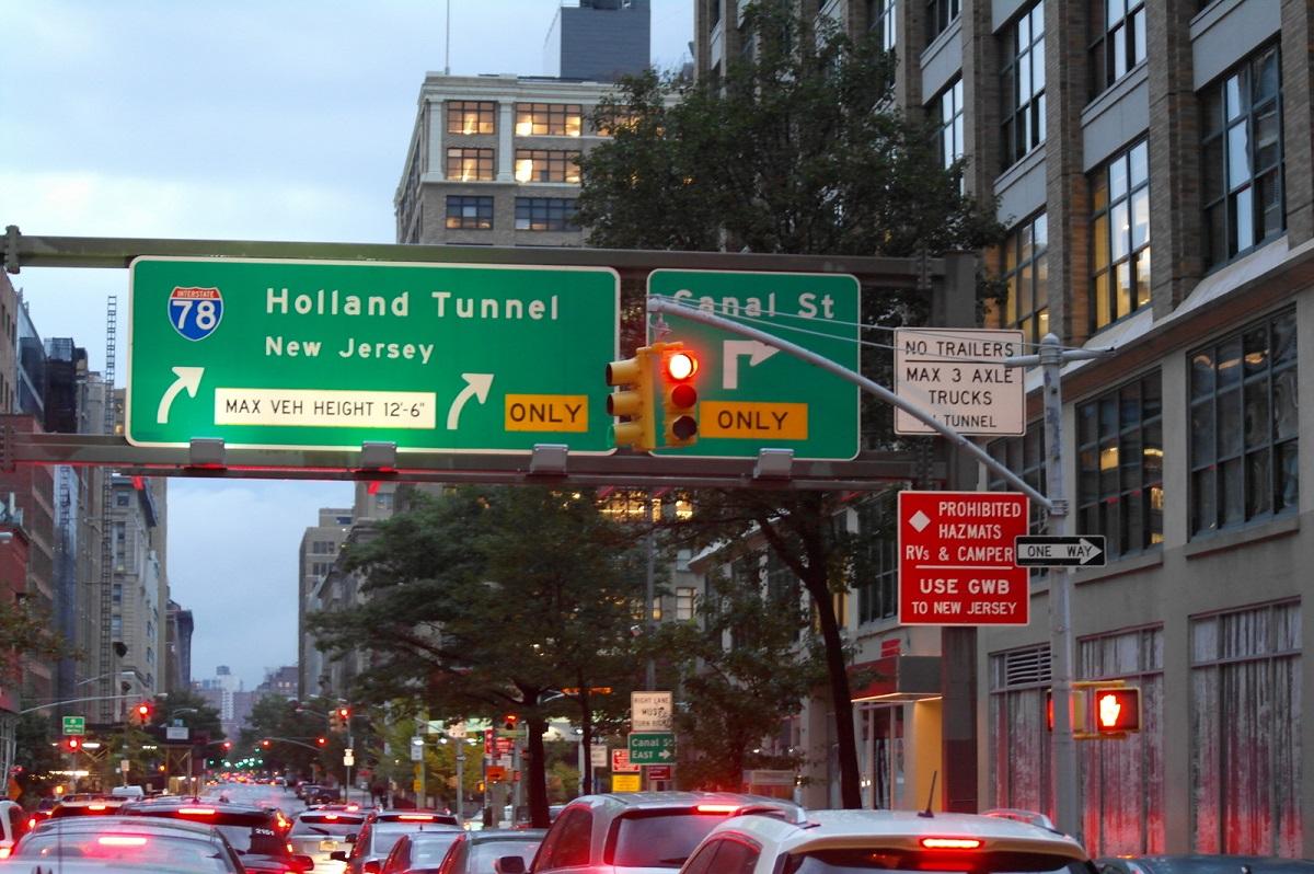 5 Holland Tunnel naar Jersey City