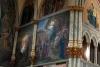 22 detail van een van de muurschilderingen in de Cathedral of St. John the Baptist