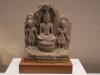 120-buddha-seated-on-naga-snake-deity-and-attendants-thailand-sandstone-lopburi-period-12th-13th-century