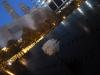 11 National September 11 Memorial Plaza bij avond