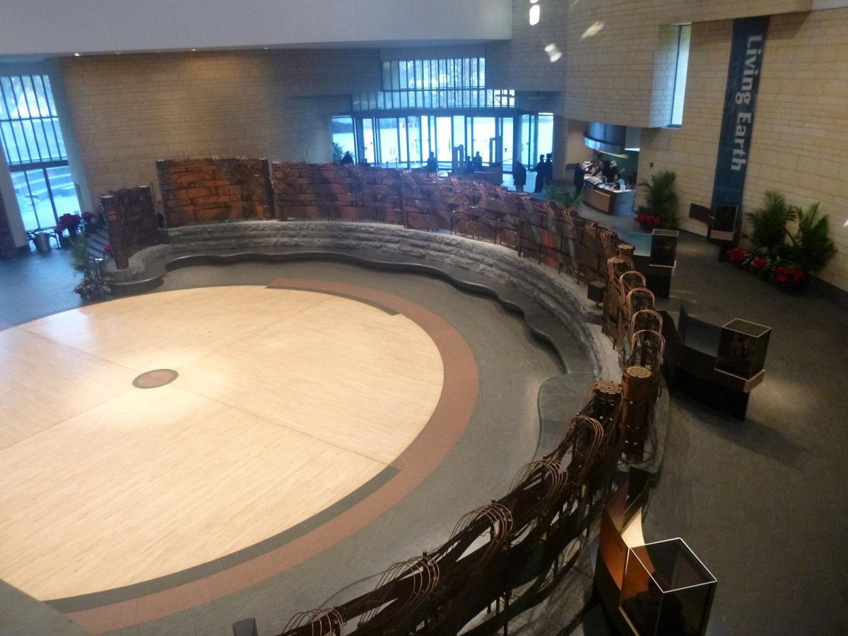 11 Potomac Atrium, hal met veel symboliek – in het National Museum of the American Indian