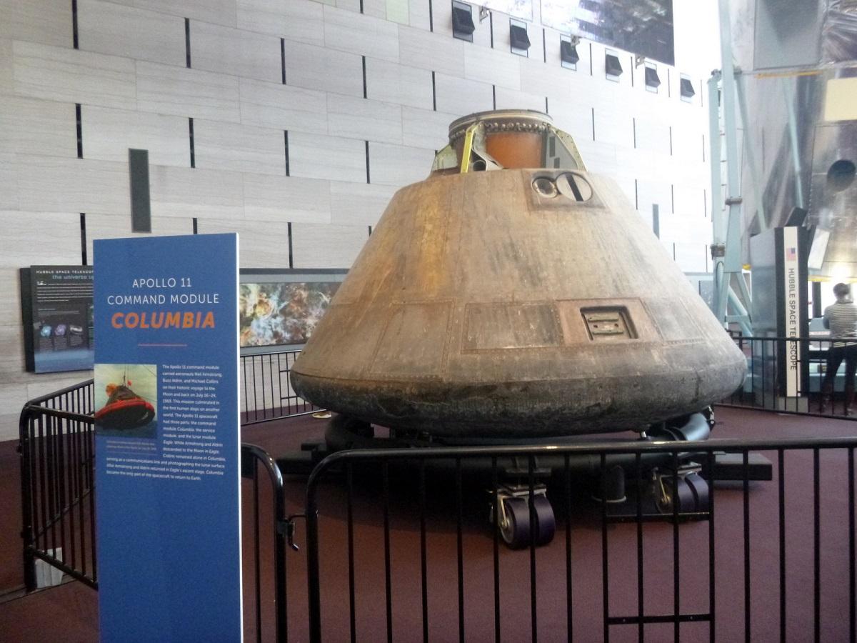 20 Apollo 9 Command Module – Space Race