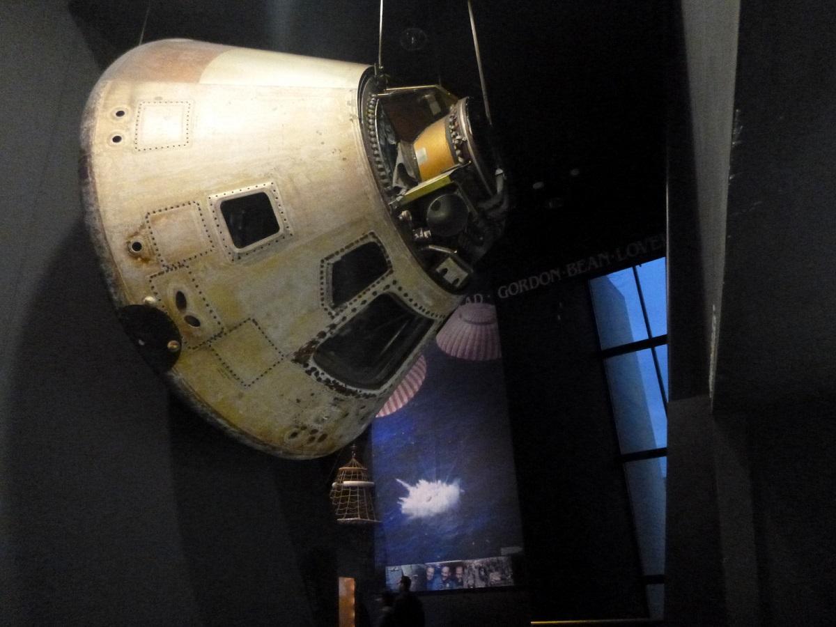 23 Apollo 11 Command Module Columbia – Space Race