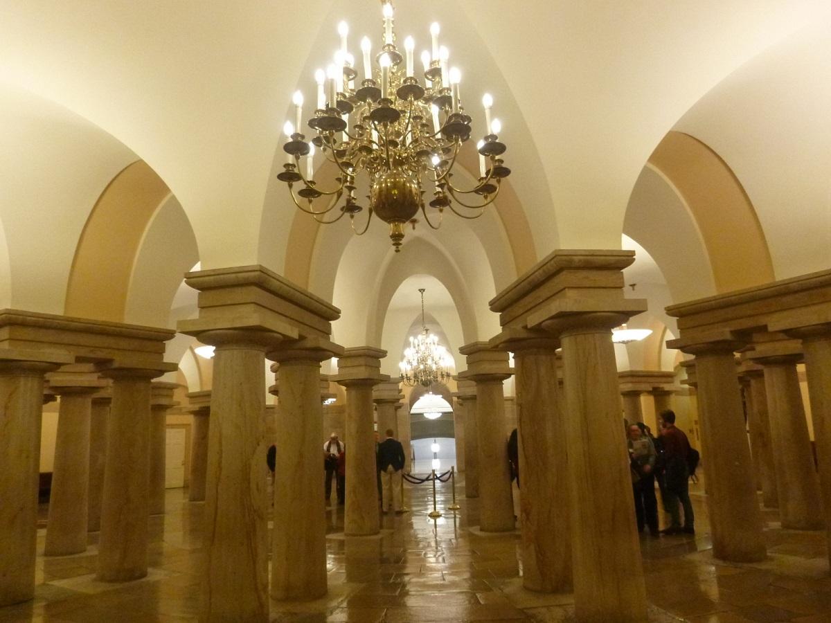 13 historische rontonde, het US Capitol, met veel geschiedenis en waar nog veel geschiedenis plaats zal vinden