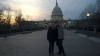 18 na deze prachtige dag en rondleiding even poseren voor het United States Capitol
