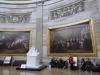 """5 """"The Rotunda"""", hoogtepunt van bezoek aan Capitol, vanuit hier vinden alle staatsbegrafenissen plaats sinds Abraham Lincoln"""